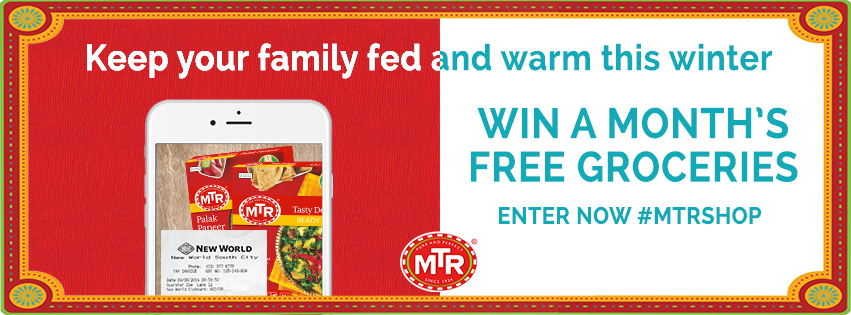 Win free groceries, keep your family fed and warm this winter