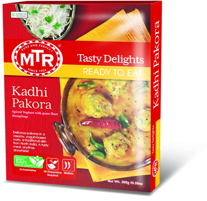 Kadhi pakora mtr foods nz curries kadhi pakora forumfinder Image collections