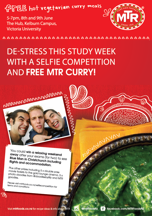 De-stress this study week with a selfie competition