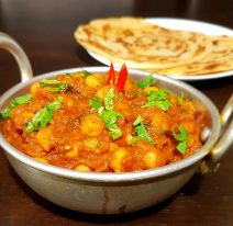 Chana Masala Popular Vegetarian Dish