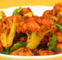 GOBI 65 (Deep Fried Cauliflower with Indian Spices)